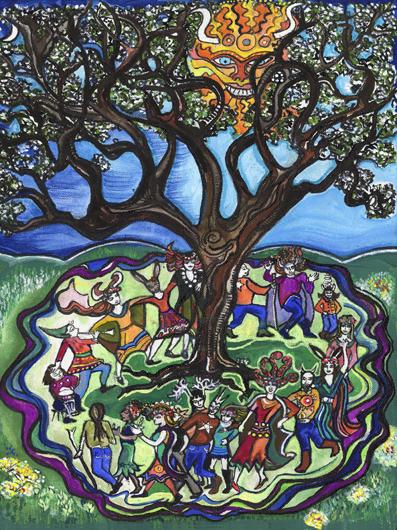 The May Tree by Geraldine Lambert